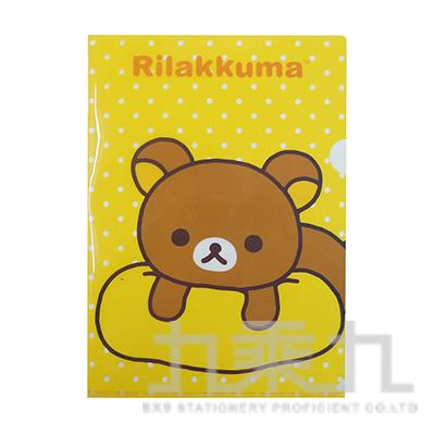 拉拉熊L型夾-黃版 RK10030A