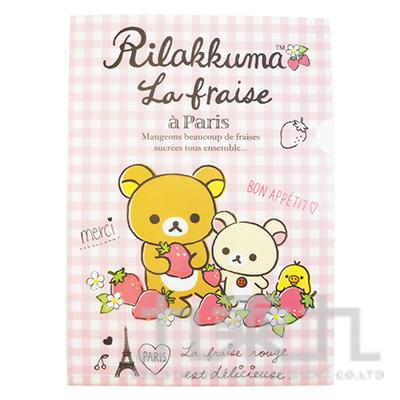 拉拉熊L夾-草莓版  RK10891A