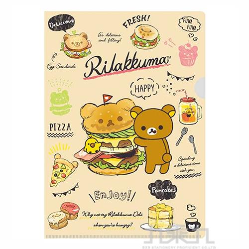 拉拉熊L夾-咖啡色版  RK10893B