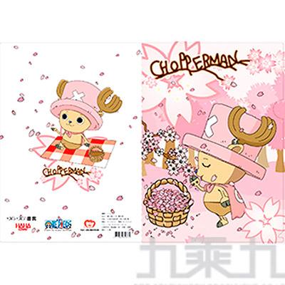 喬巴超人櫻花版L夾-31/彩色/單層 LF018