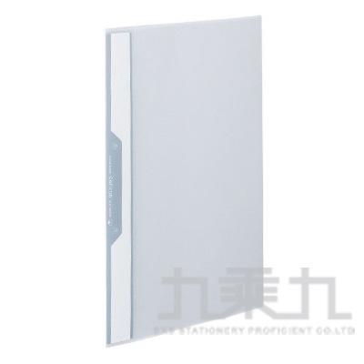 KOKUYO Cofitus 薄型資料2孔單夾3口袋信封袋-透明