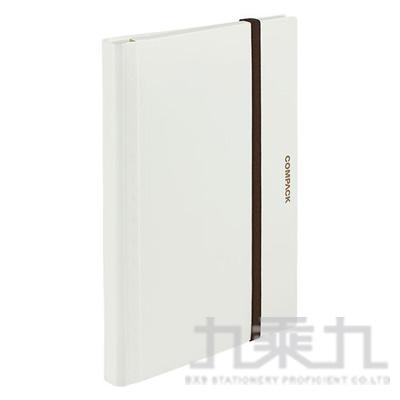 KING JIM 白色 Campact A4可對折資料夾(10頁) 5894H