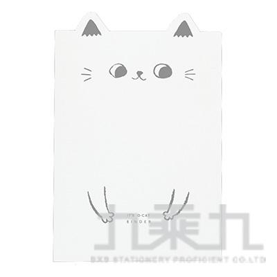 O-cat貓耳20入PP資料本-白