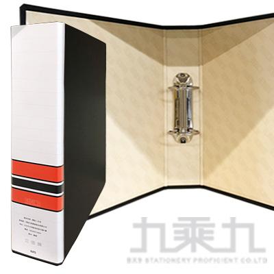 立強 美式圓型二孔夾(無耳) 黑 R672 (規格尺寸同自強型號520A)