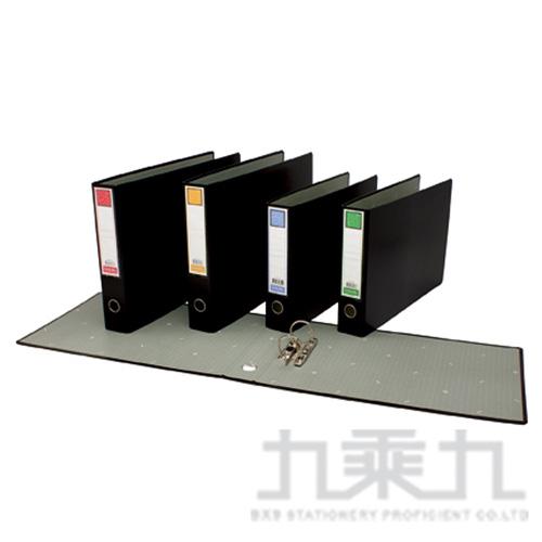 46S 黑2孔西式檔案夾(背6cm) (B4規格)