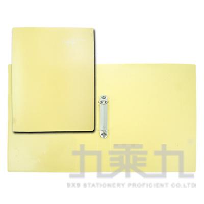 誌揚 A4PP法色3/4吋2孔檔案夾-黃 15C-2Y