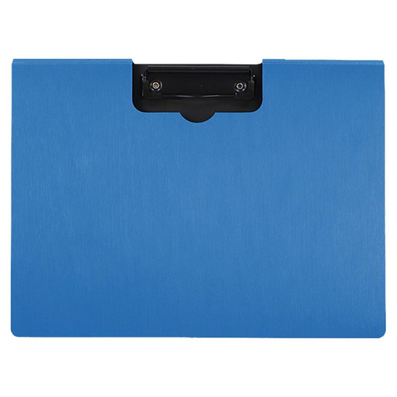 A4 羽絲橫式丹麥夾-經典藍