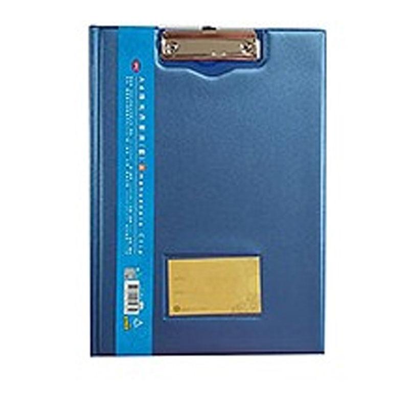 A4珠光丹麥夾(藍)