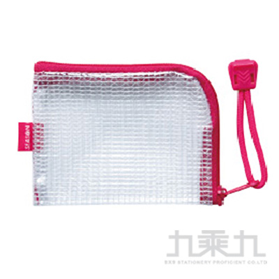 B8L型防水拉鍊袋-粉 CC0906-01