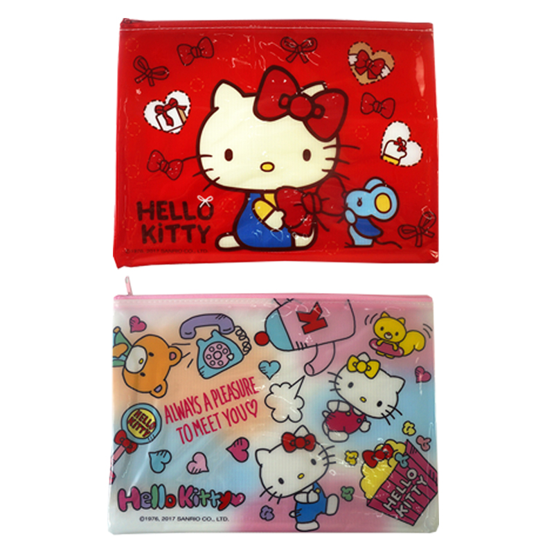 Hello Kitty 可愛資料袋  021960(款式隨機出貨)
