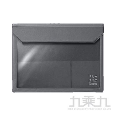 5360 FLATTY 深灰色 多用途收納袋(A6)