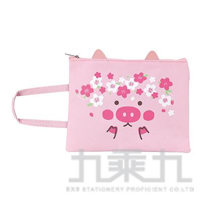 A5櫻花小豬拉鍊袋 HP3002