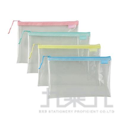 COX EVA環保透明拉鍊袋-B6 NO.851H
