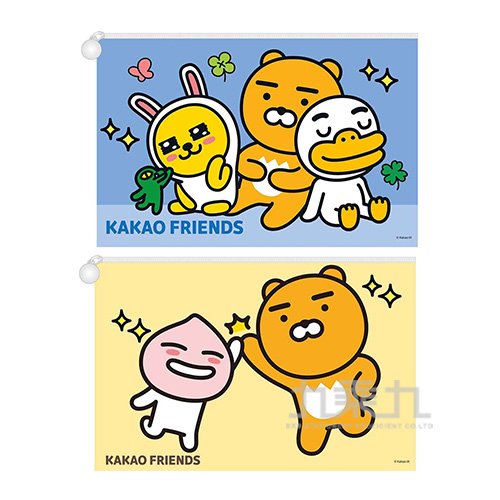KAKAO FRIENDS網狀資料袋(A4)