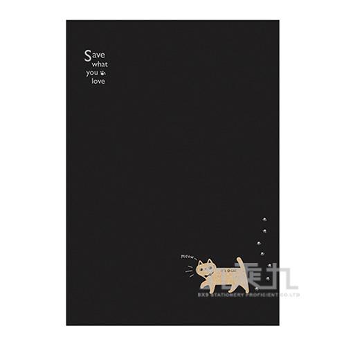 O-Cat斬型貓細版26孔夾_黑