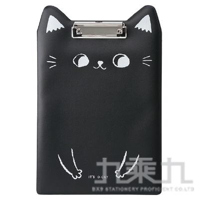 O-Cat貓耳 20孔細版孔夾-黑