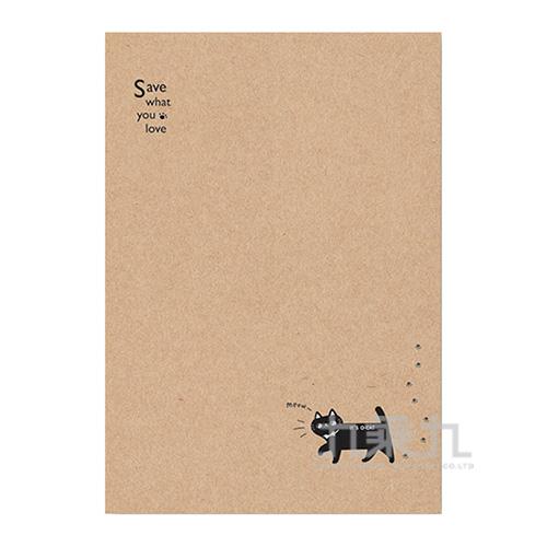 O-Cat斬型貓細版20孔夾_牛皮