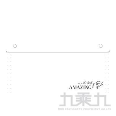 風琴夾大12層-白燈 RB9391-01