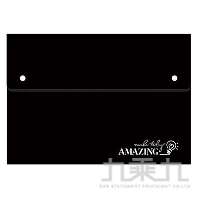 風琴夾大12層-黑燈 RB9391-03