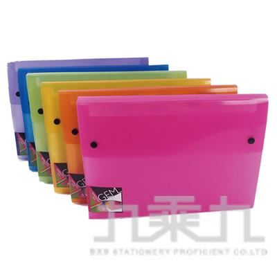 GEM A4 12層風琴夾-藍 A4-12-57-B