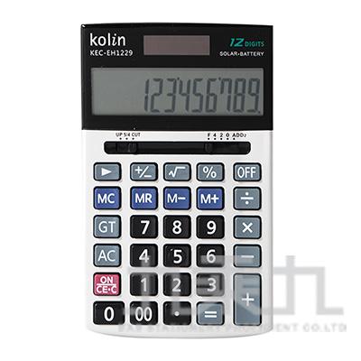 歌林12位桌上型計算機 KEC-EH1229