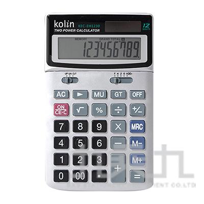 歌林12位桌上型計算機 KEC-EH1230