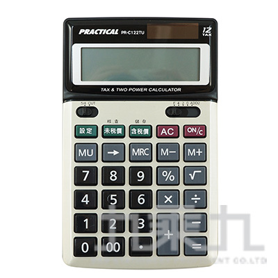 實用12位稅率計算機 PR-C122TU