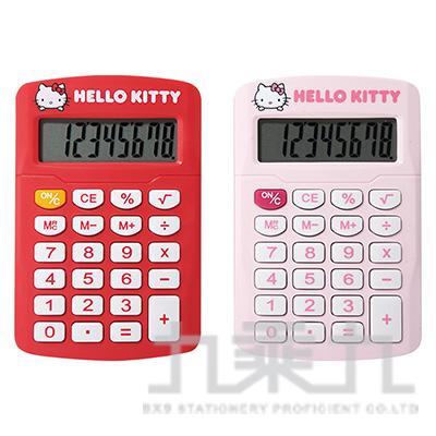 Hello Kitty 計算機 KT-8 (顏色隨機出貨)
