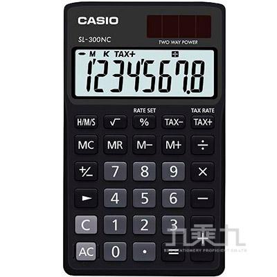 CASIO 8位元計算機 SL-300NC-BK
