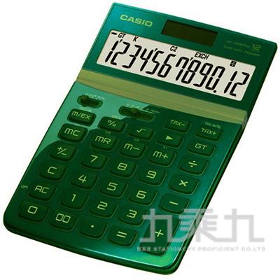 CASIO 12位計算機 綠色 JW-200TW-GN-S