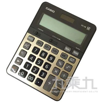 CASIO 12位元計算機 DS-2B-GD