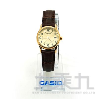 Casio 手錶 LTP-V002GL-9B  (Analog)