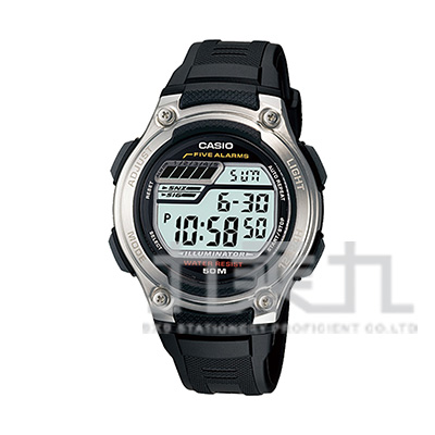 CASIO Digital手錶 W-212H-1A