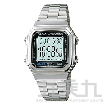 CASIO 手錶 A178WA-1ADF