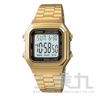 CASIO 手錶 A178WGA-1ADF