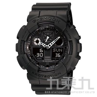 CASIO G-SHOCK手錶 GA-100-1A1