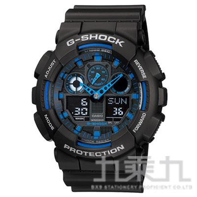 CASIO G-SHOCK手錶 GA-100-1A2
