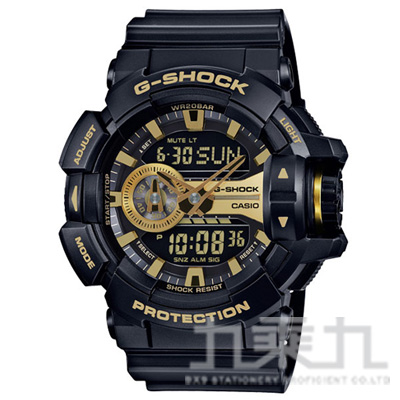 CASIO G-SHOCK手錶 GA-400GB-1A9