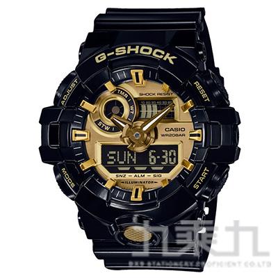 CASIO G-SHOCK手錶 GA-710GB-1A
