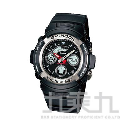 CASIO G-SHOCK手錶 AW-590-1A