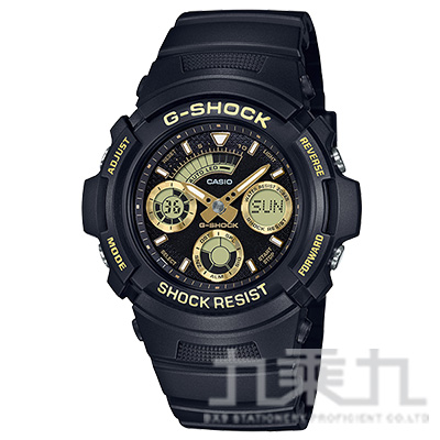 CASIO G-SHOCK手錶 AW-591GBX-1A9