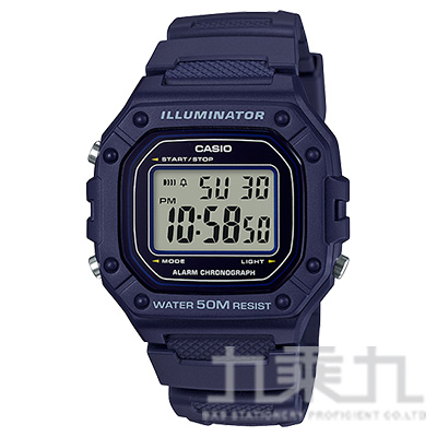 CASIO 手錶 W-218H-2AVDF