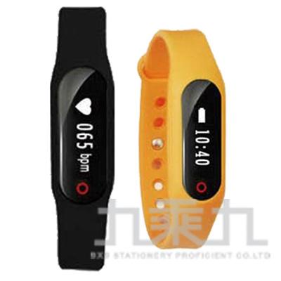 AIEK K5藍芽心率智慧穿戴手環-橘