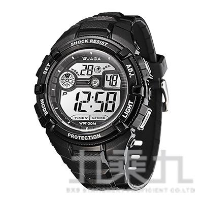 捷卡冷光電子錶-M932-A(黑)