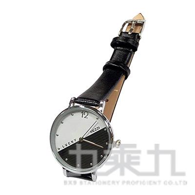 時尚潮流指針女用皮帶錶 K1737-A