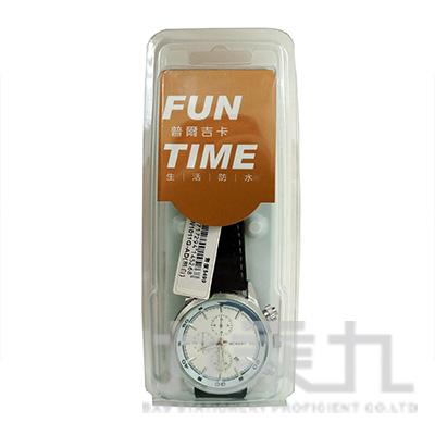 時尚潮流指針男用皮帶錶 FW1011G-AD