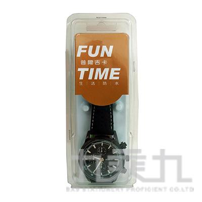 時尚潮流指針男用皮帶錶 FW1011G-AA