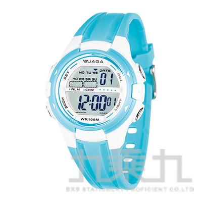 JAGA冷光女用電子錶-M1140-F