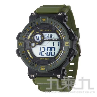 JAGA 冷光男用電子錶 M1131-AF