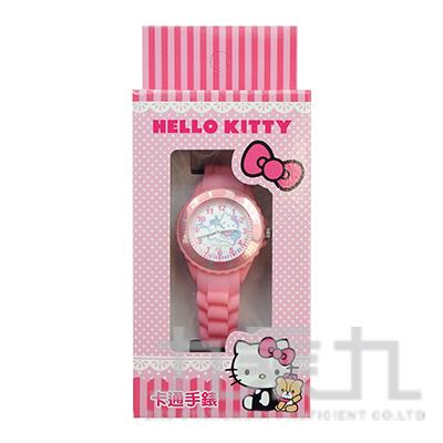 Hello Kitty 貓卡通石英錶(粉色) S7-1005K